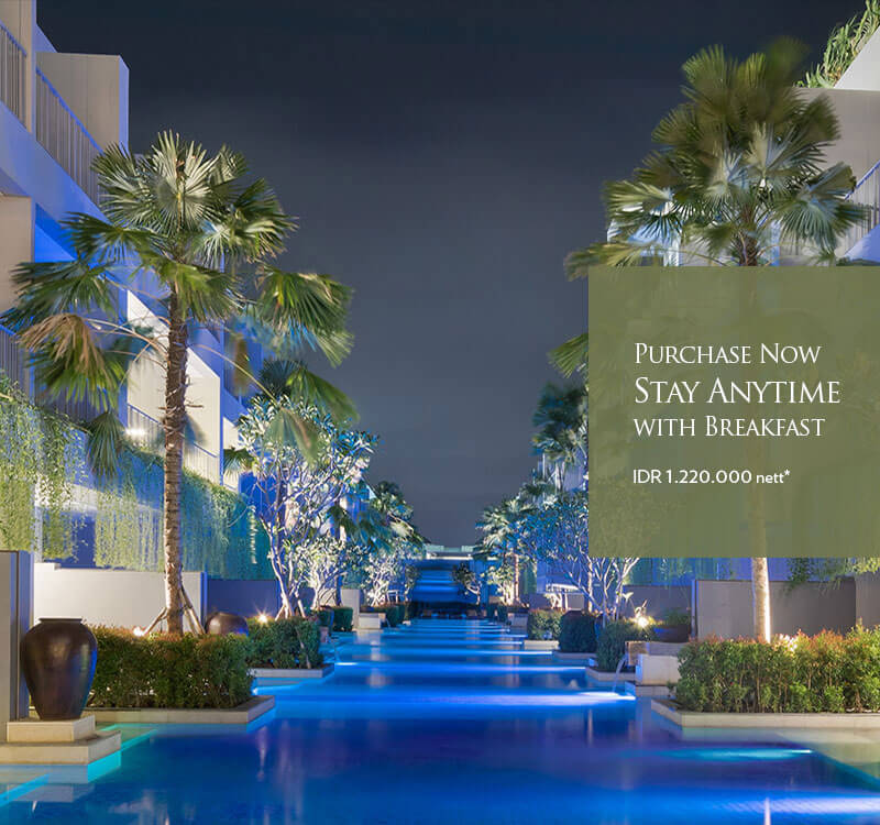 Purchase Now Stay Anytime with Breakfast